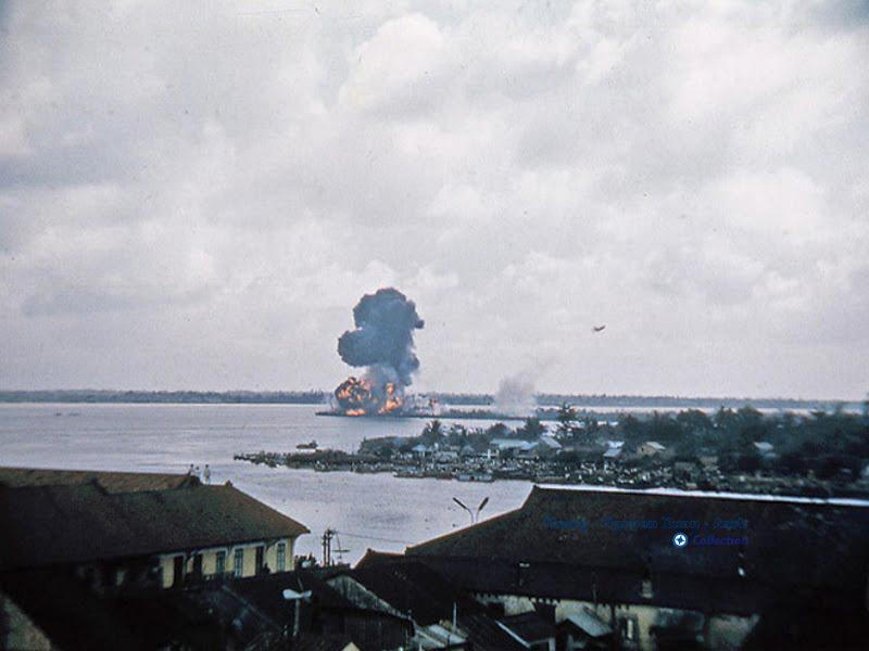 Cháy ở xóm chày Cần THơ năm 1966-1972