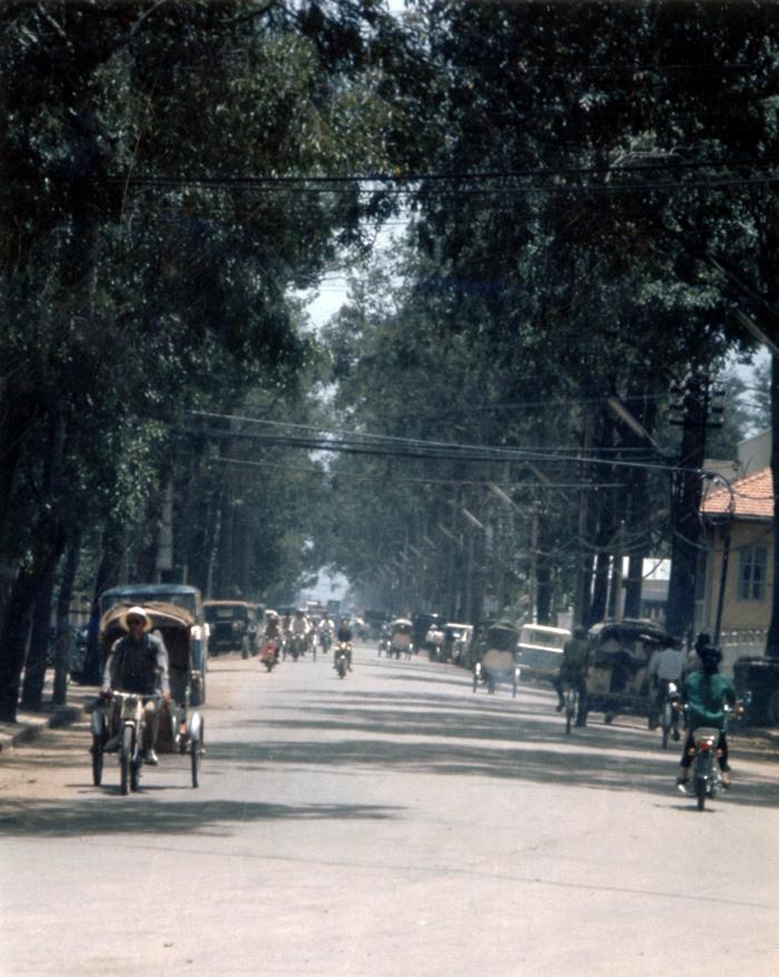 Khung cảnh đường phố Cần Thơ xưa
