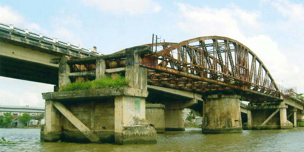 Cầu Quay Cái Răng Cần Thơ năm 2000