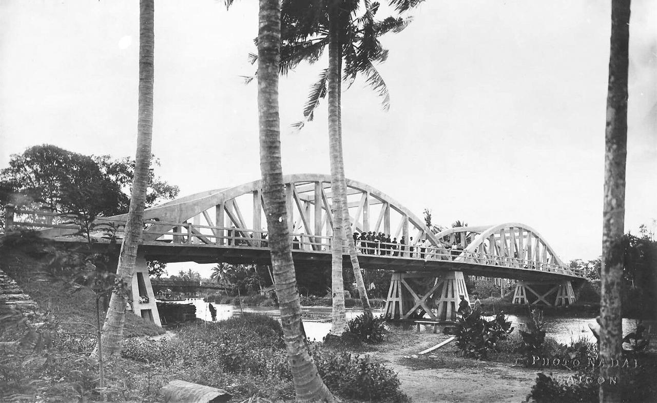Cầu xi măng Cần Thơ thập niên 1920s