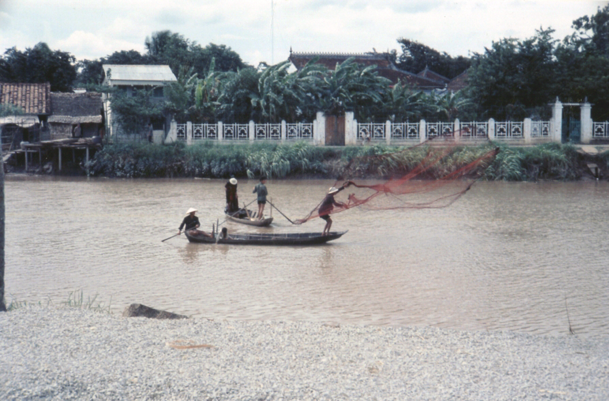Chày lưới ven sông Cần Thơ xưa