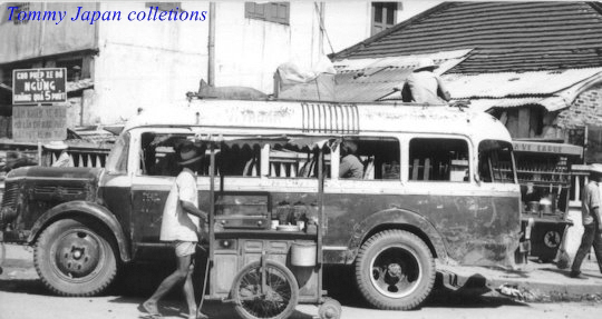 Chiếc xe đò ở Cần Thơ năm 1965