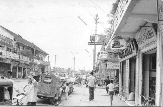 Con đường xưa ở Cần Thơ năm 1965 | Nay là đường Ngô Quyền