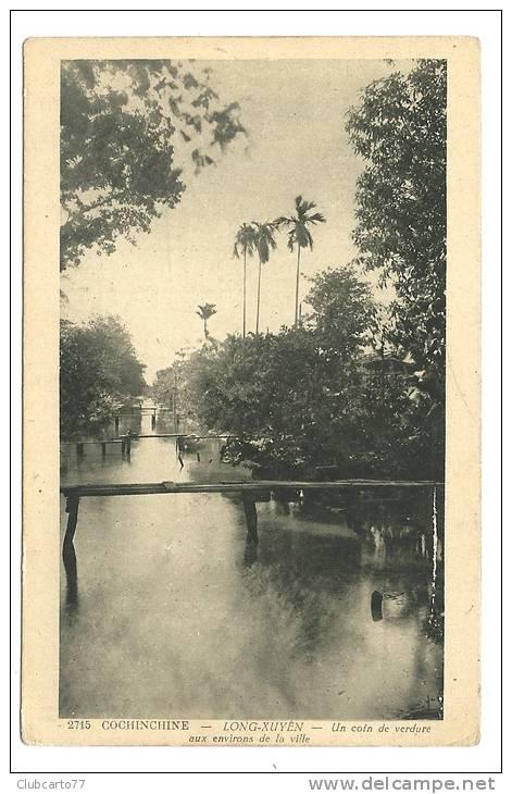 Con kênh ở Long Xuyên vào năm 1930
