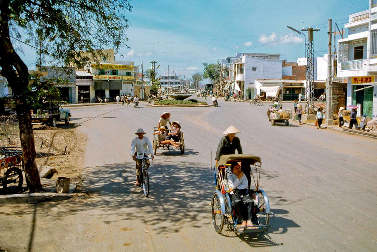 Đại lộ ngã tư Mỹ Tho năm 1969