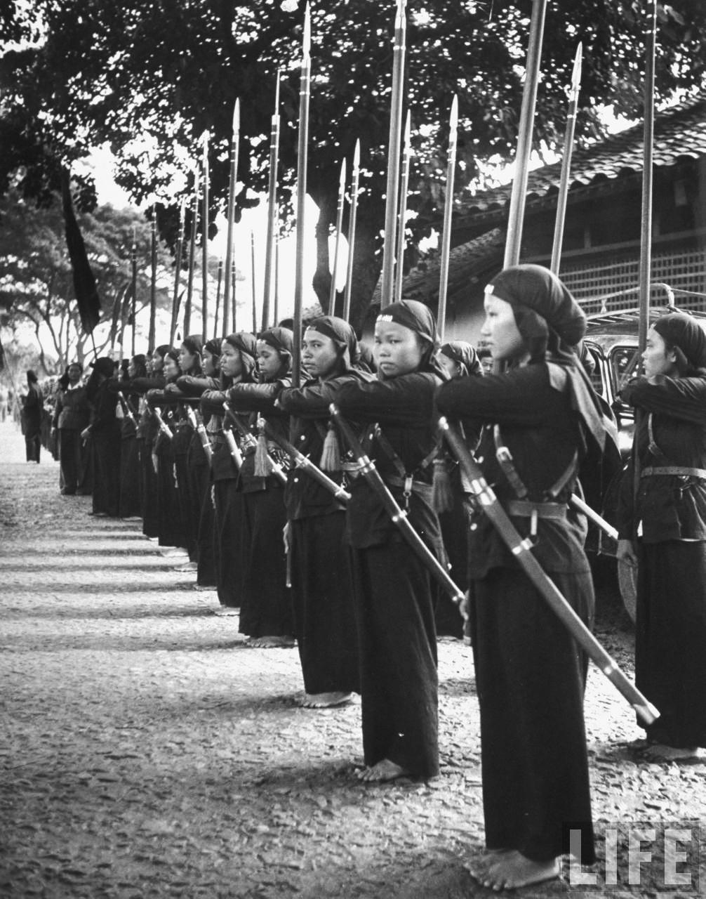 Đội quân nữ trong lực lượng võ trang của Phật Giáo Hòa Hảo