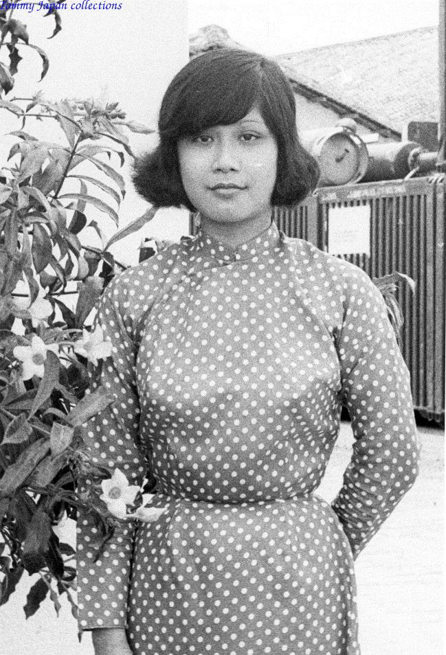 Chân dung cô gái làm việc tại CRORDS thuộc quân đoàn 4 ở Cần Thơ năm 1970