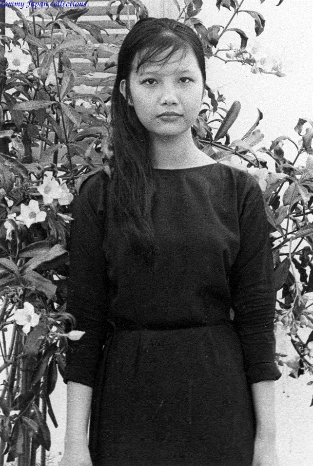 Chân dung 1 cô gái khác làm việc tại CRORDS thuộc quân đoàn 4 ở Cần Thơ năm 1970