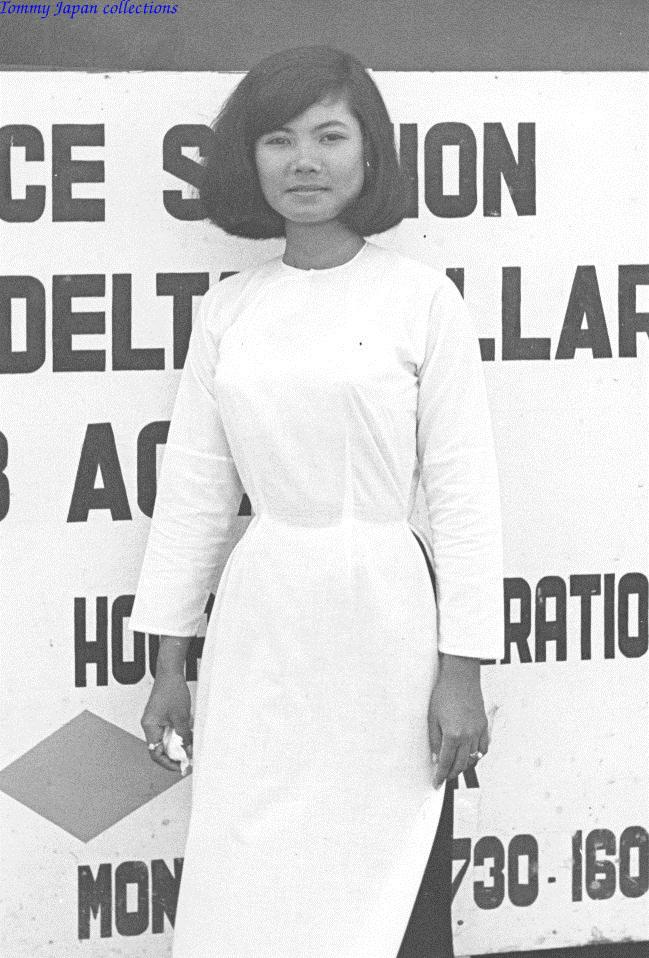 Một cô gái khác làm việc tại CRORDS thuộc quân đoàn 4 ở Cần Thơ năm 1970