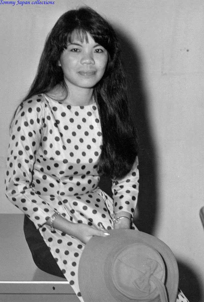 Cô gái làm việc tại CRORDS thuộc quân đoàn 4 ở Cần Thơ năm 1970