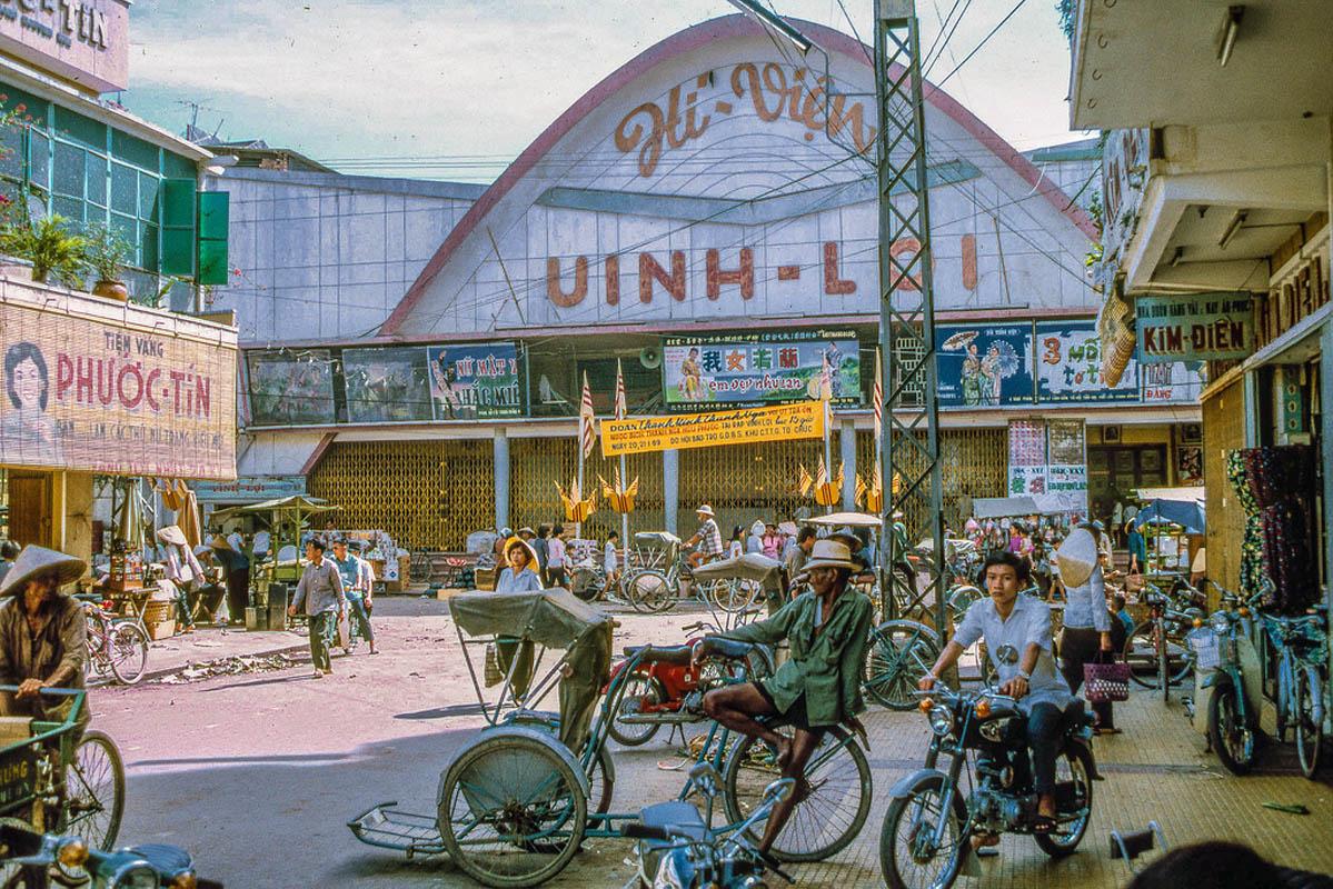 Khu mua sắm ở phía đông TP Mỹ Tho tỉnh Định Tương năm 1969
