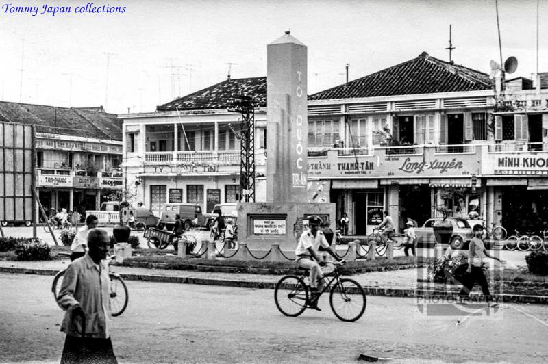 Khu phố Long Xuyên xưa