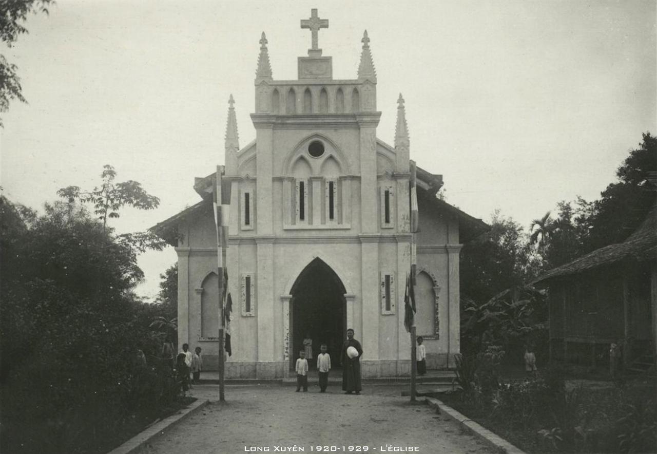 Nhà thờ Long Xuyên thập niên 1920s