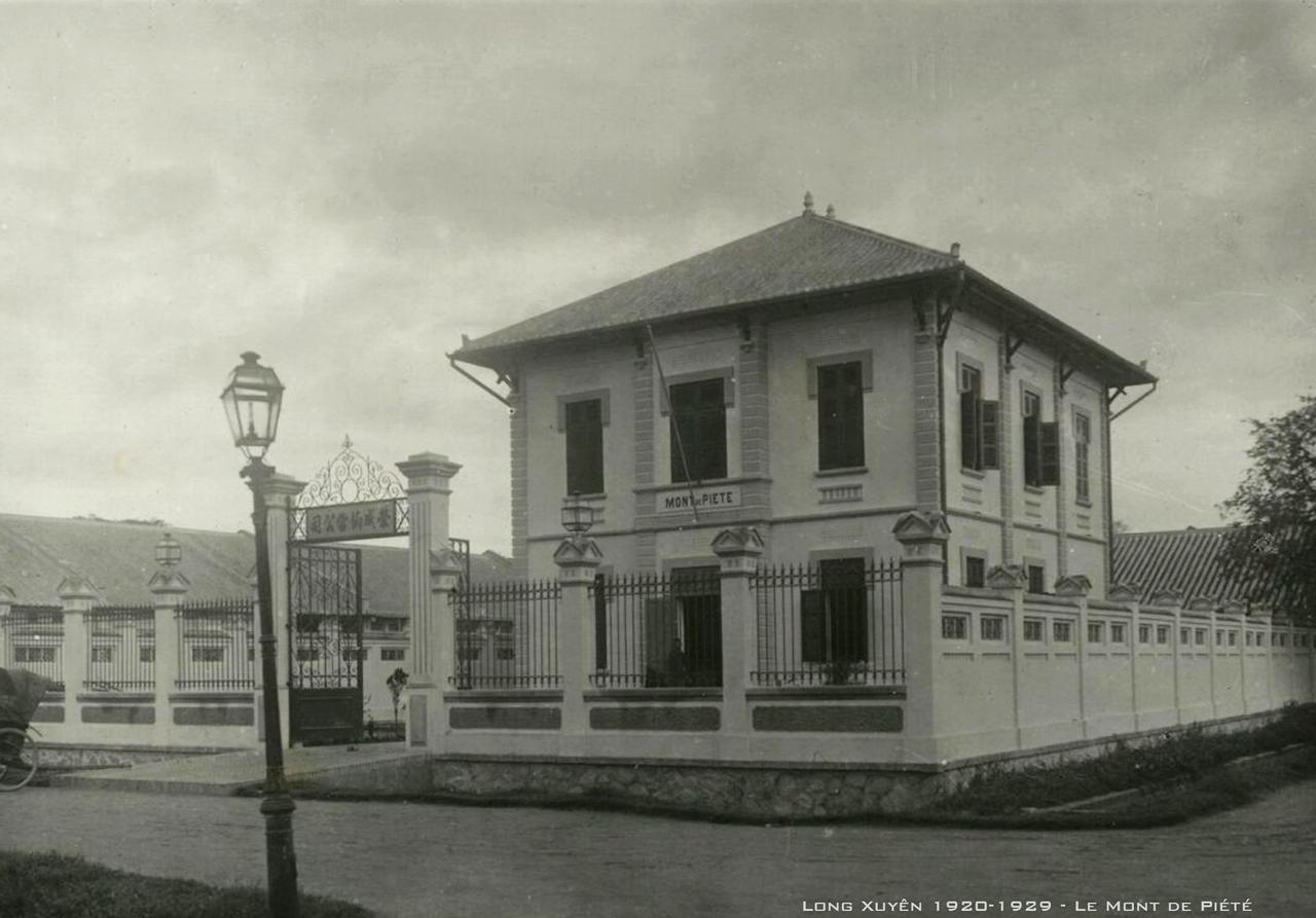 Tiệm Cầm Đồ Long Xuyên thập niên 1920s
