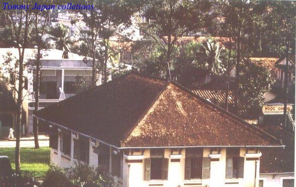 Mái nhà của một văn phòng hành chính tại Cần Thơ năm 1965