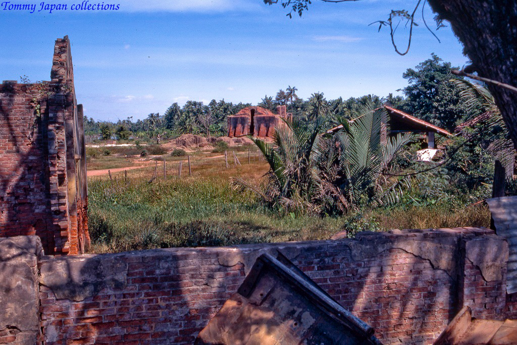 Một vùng nông thôn gần trung tâm Mỹ Tho năm 1969