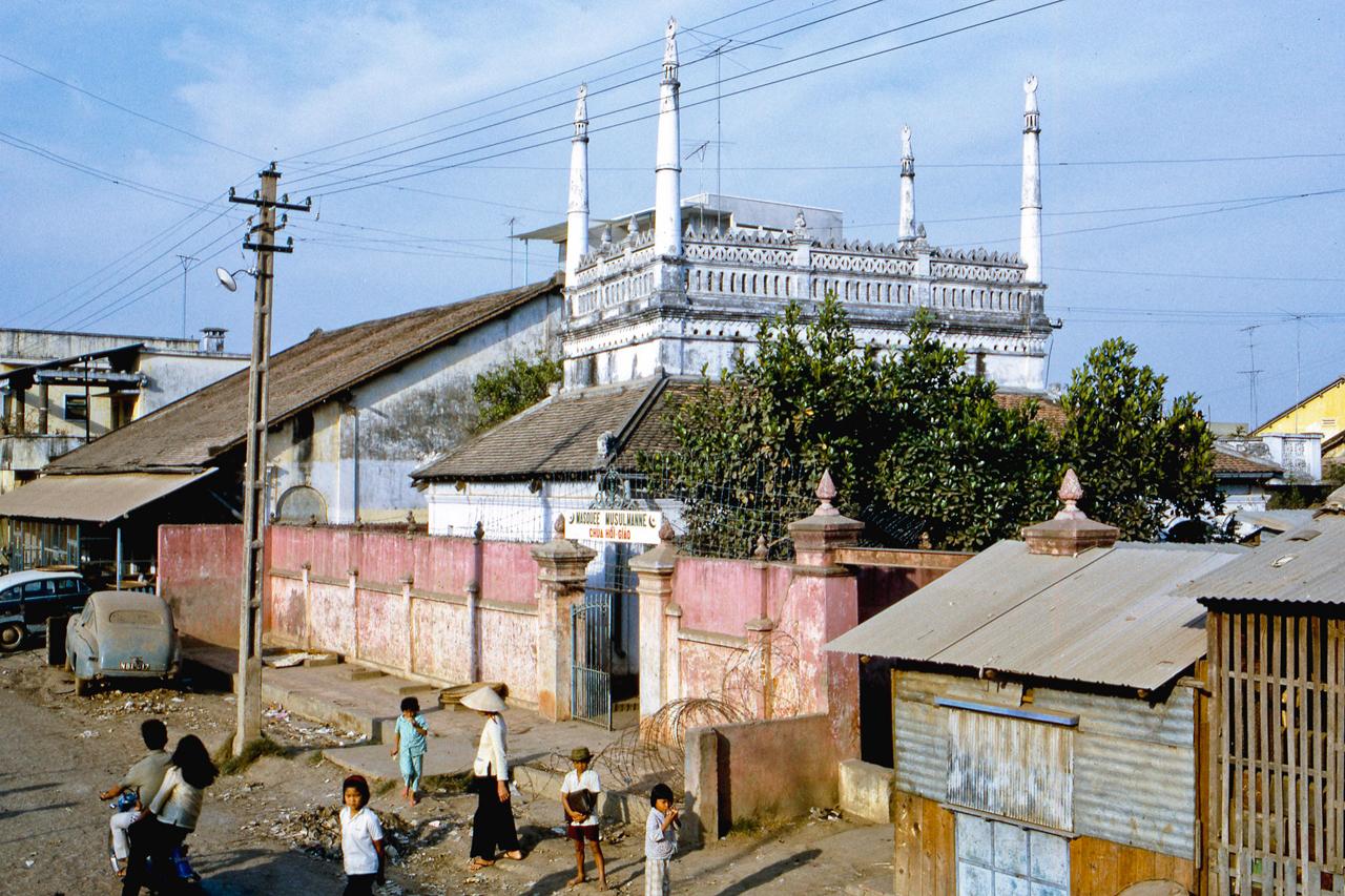 Chùa Chà (Thánh đường Hồi giáo Mỹ Tho) năm 1969