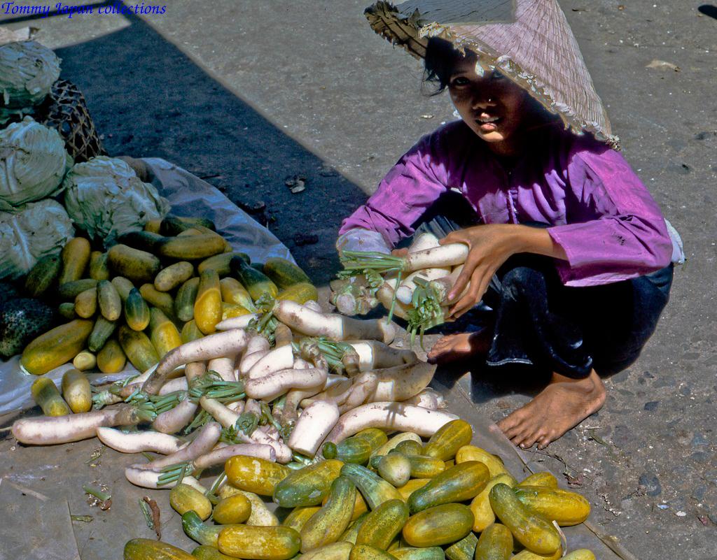 Người bán củ cải trắng