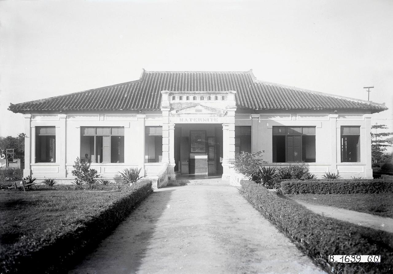 Nhà bảo sanh ở Châu Đốc thập niên 1920s