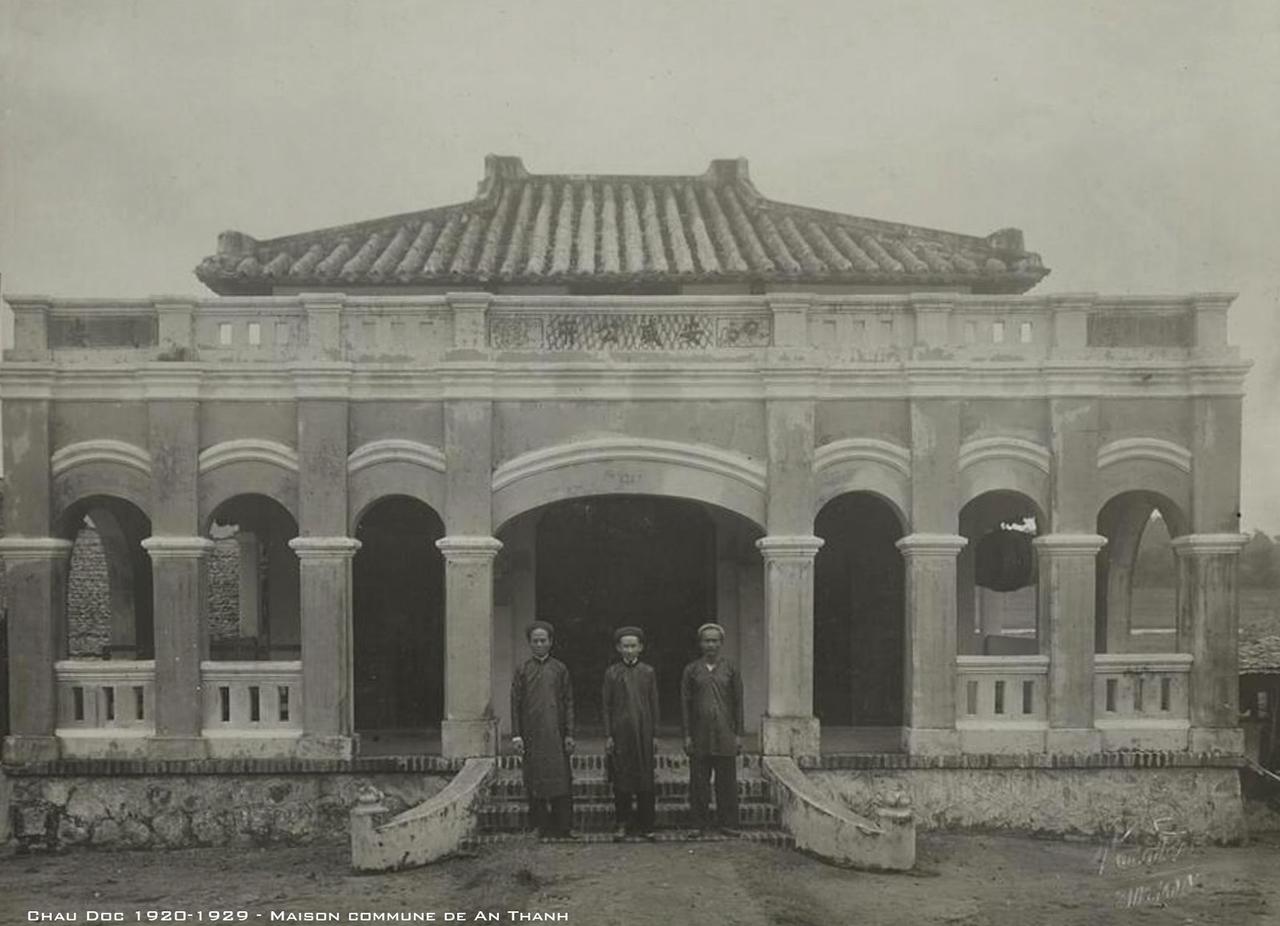 Nhà làng An Thạnh, Châu Đốc thập niên 1920s