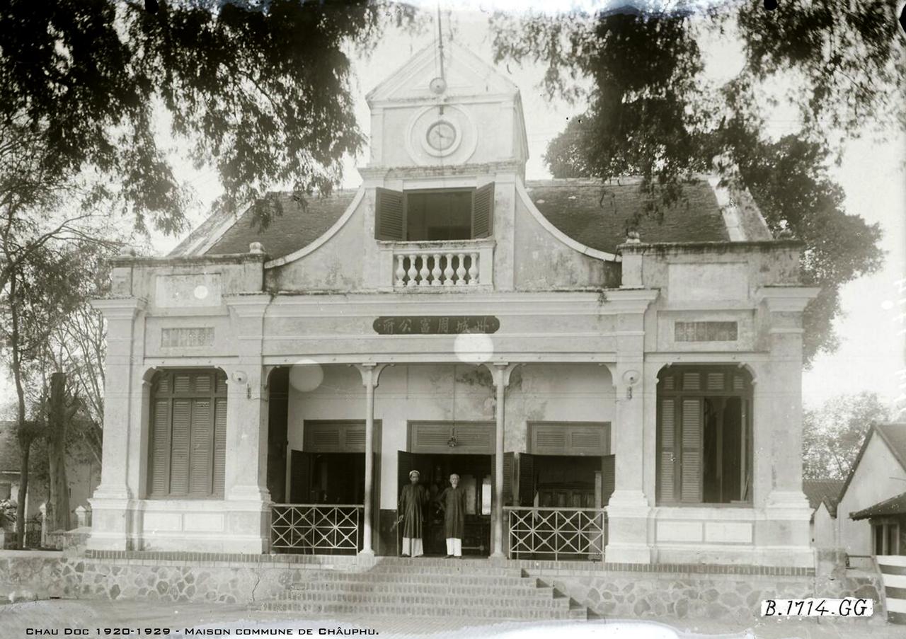 Nhà làng Châu Phú thập niên 1920s