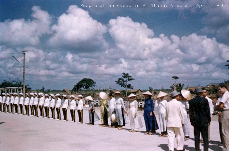 Lễ khánh thành khu trù mật VỊ Thanh - Hỏa Lựu năm 1960