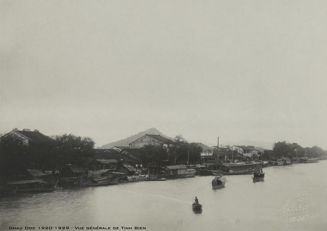 Quang cảnh ở Tịnh Biên thập niên 1920s