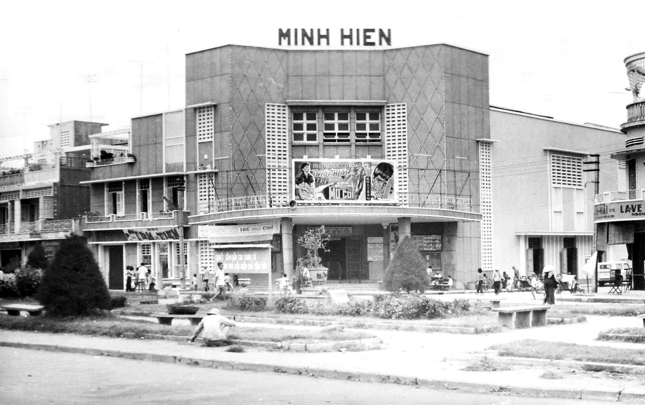 Rạp chiếu phim MInh Hien tại Long Xuyên   Photo by Christopher Ness