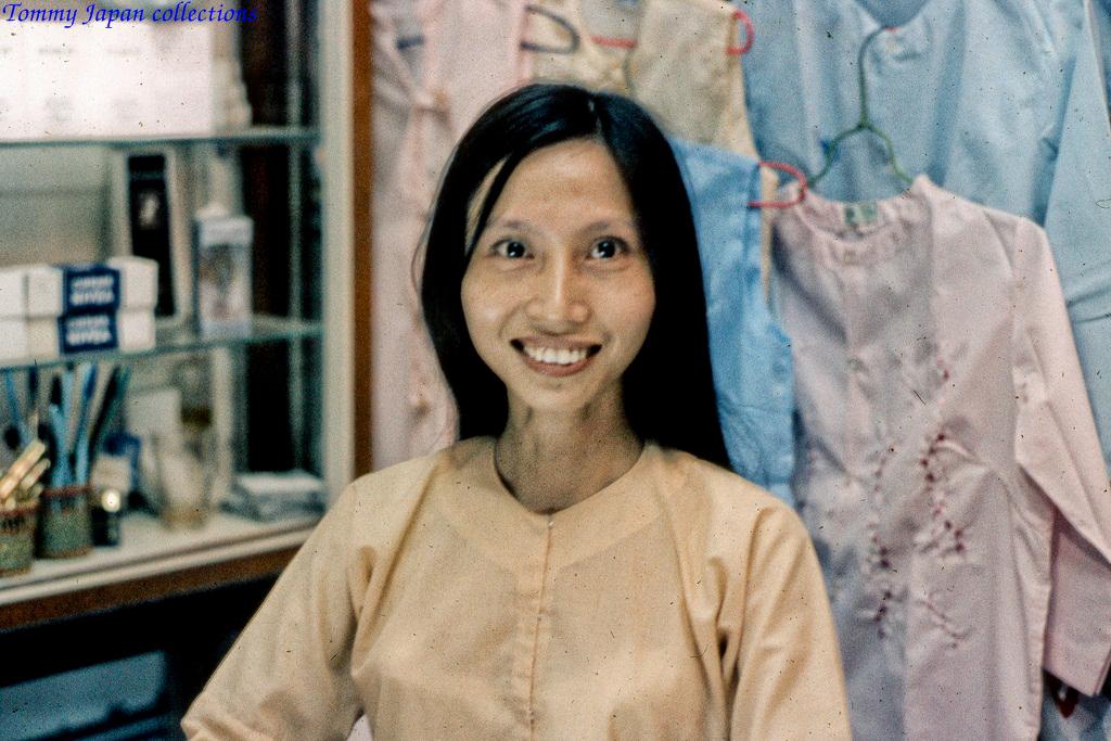 Chân dung thợ may quần áo xưa