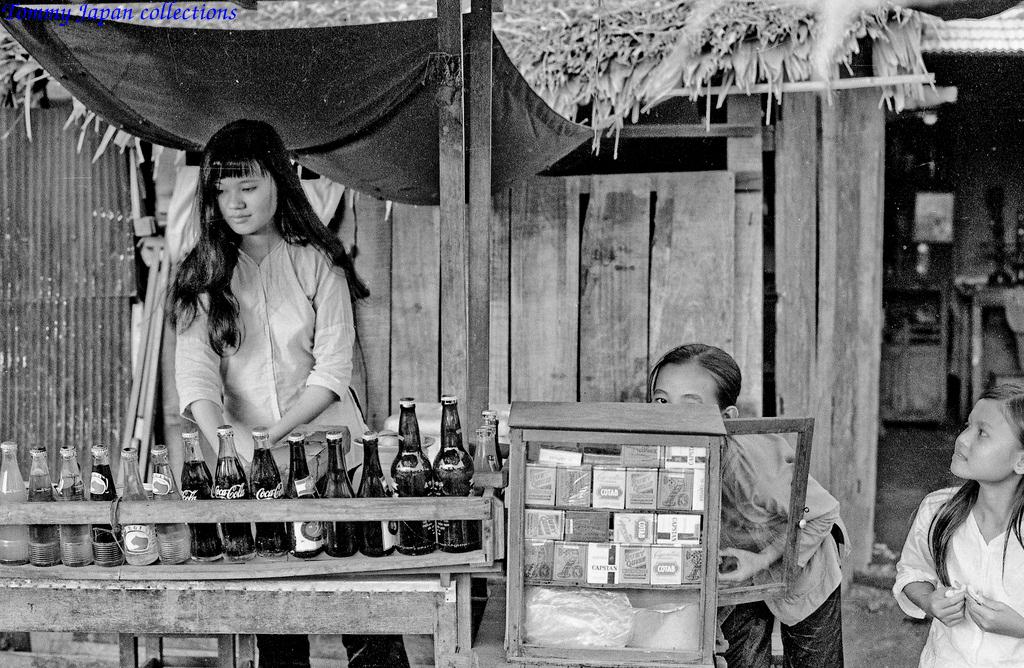 Tiệm nước ngọt nhỏ ven đường ngày xưa