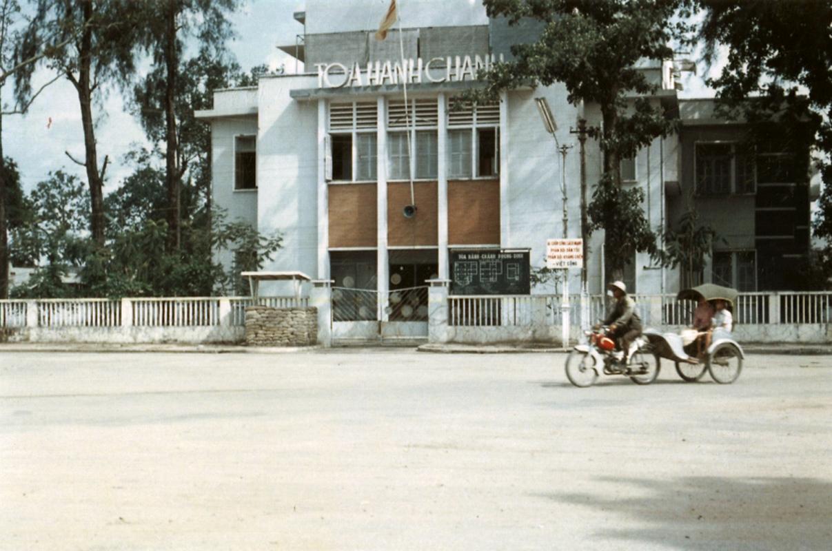 Tòa hành chính tỉnh Phong Dinh - Nay là bảo tàng Cần Thơ