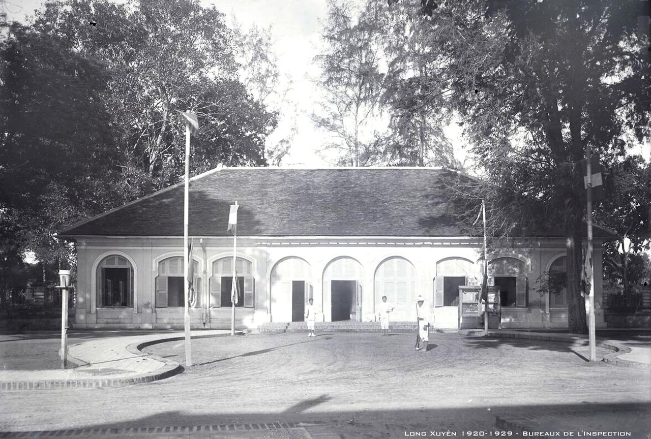 Tòa Tham Biện Long Xuyên thập niên 1920s