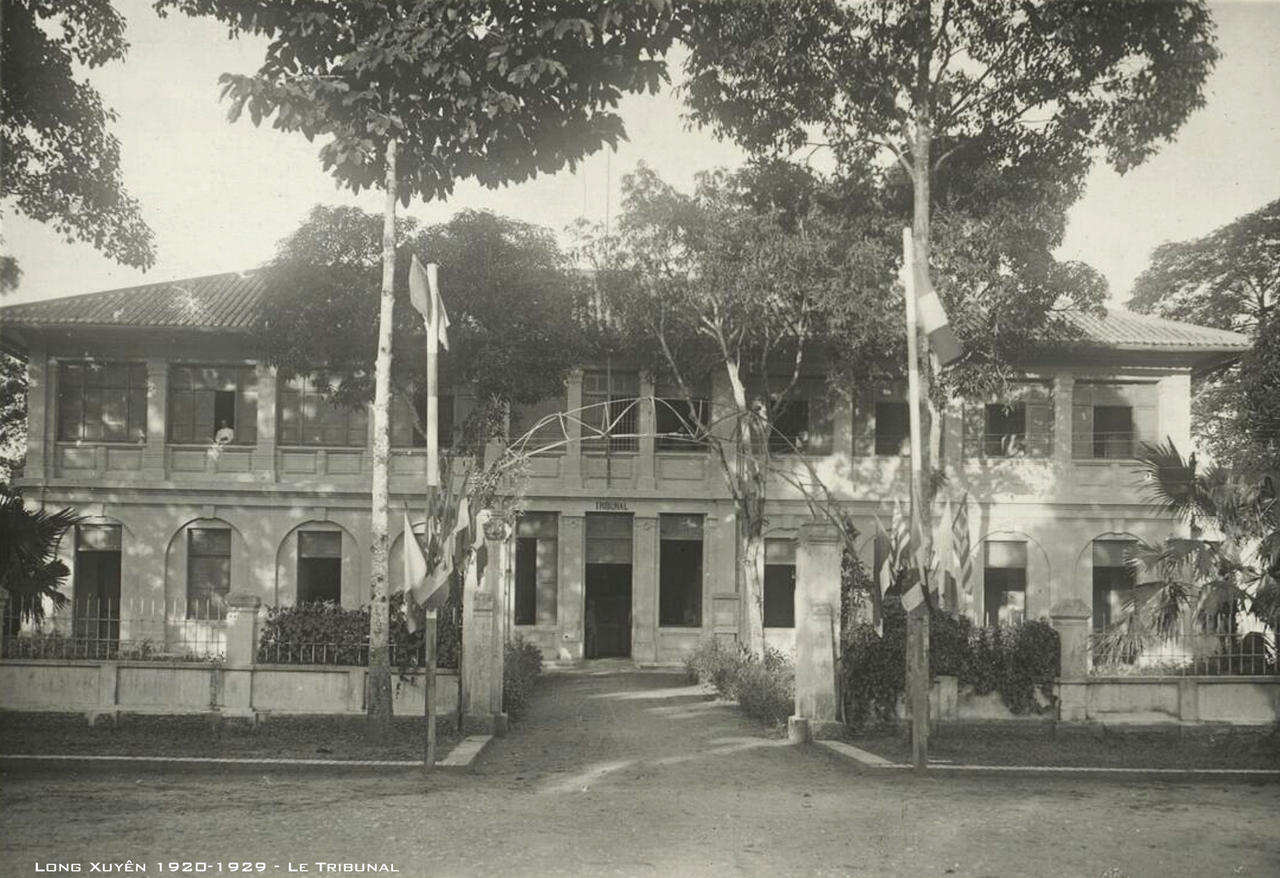 Tòa án Long Xuyên thập niên 1920s