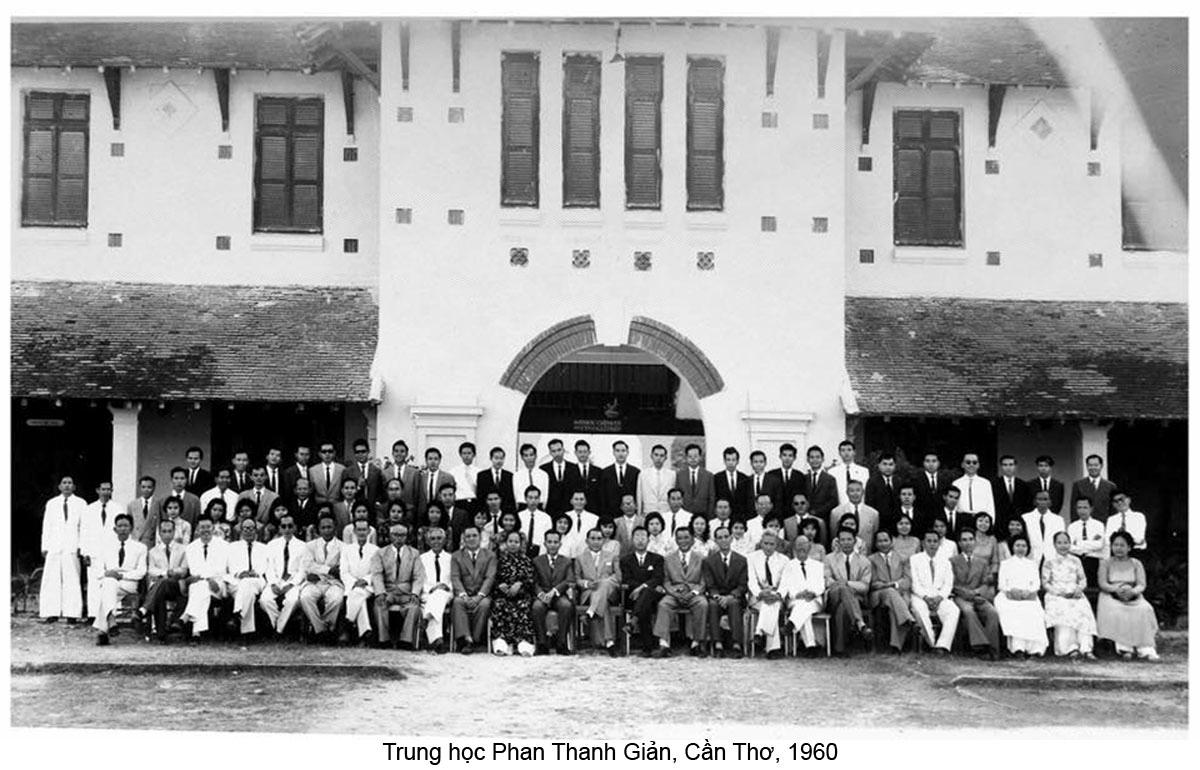 Trung học Phan Thanh Giản ở Cần Thơ năm 1960
