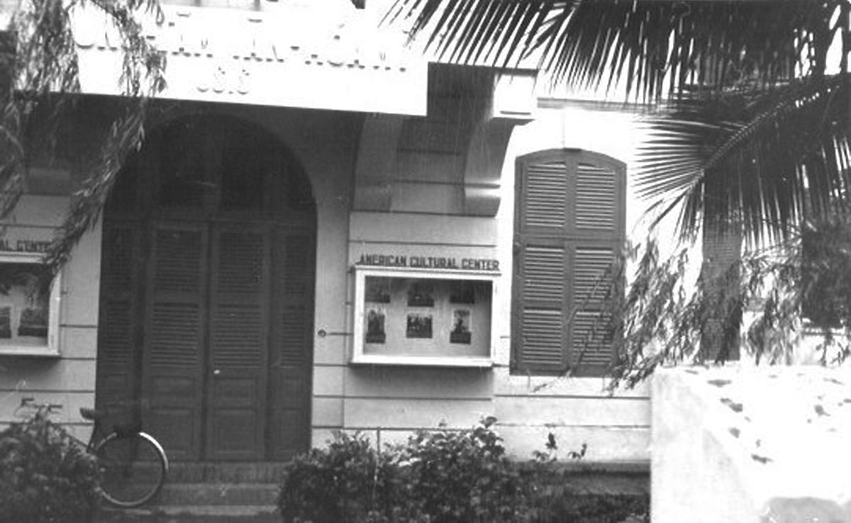 Trung tâm văn hóa Mỹ ở Cần Thơ năm 1965