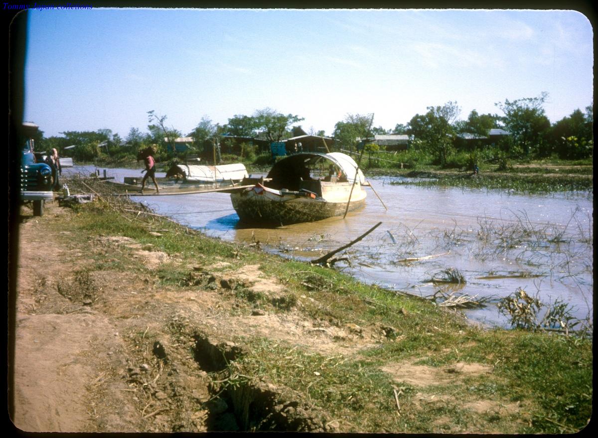Vùng ven sông ngoại ô Cần Thơ năm 1963