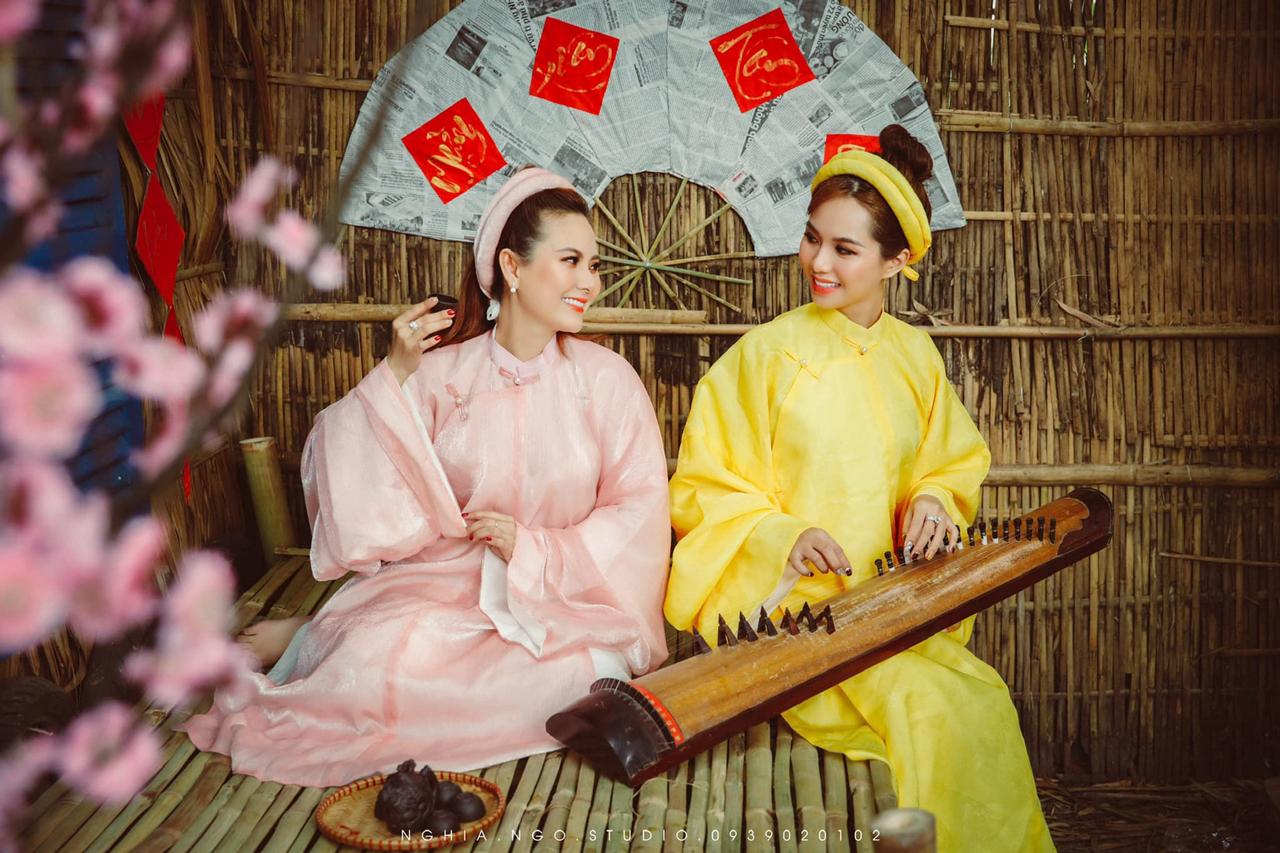 Hình ảnh cổ trang khá ấn tượng được Nghia Ngo Studio chụp ở Bamboo Garden