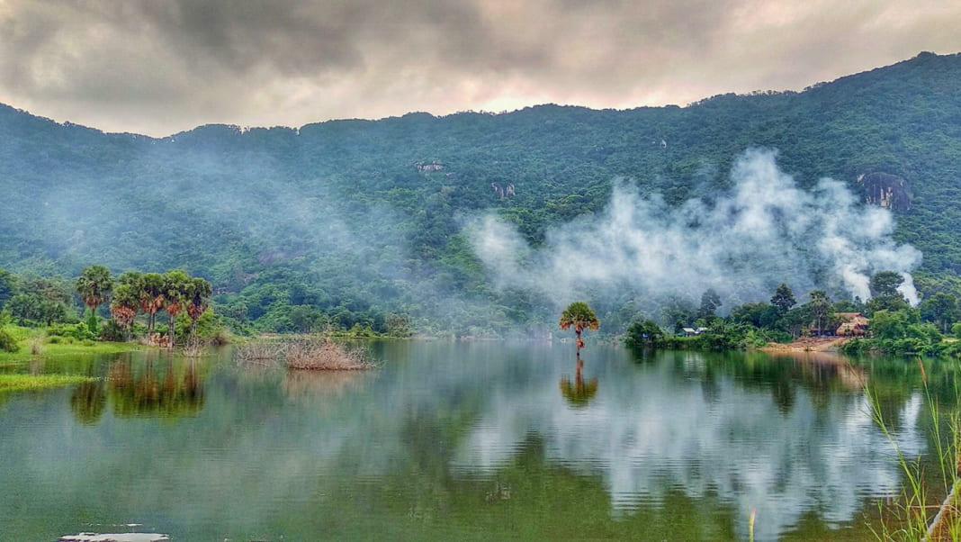 Hồ Ô Thum Tri Tôn An Giang mùa nước