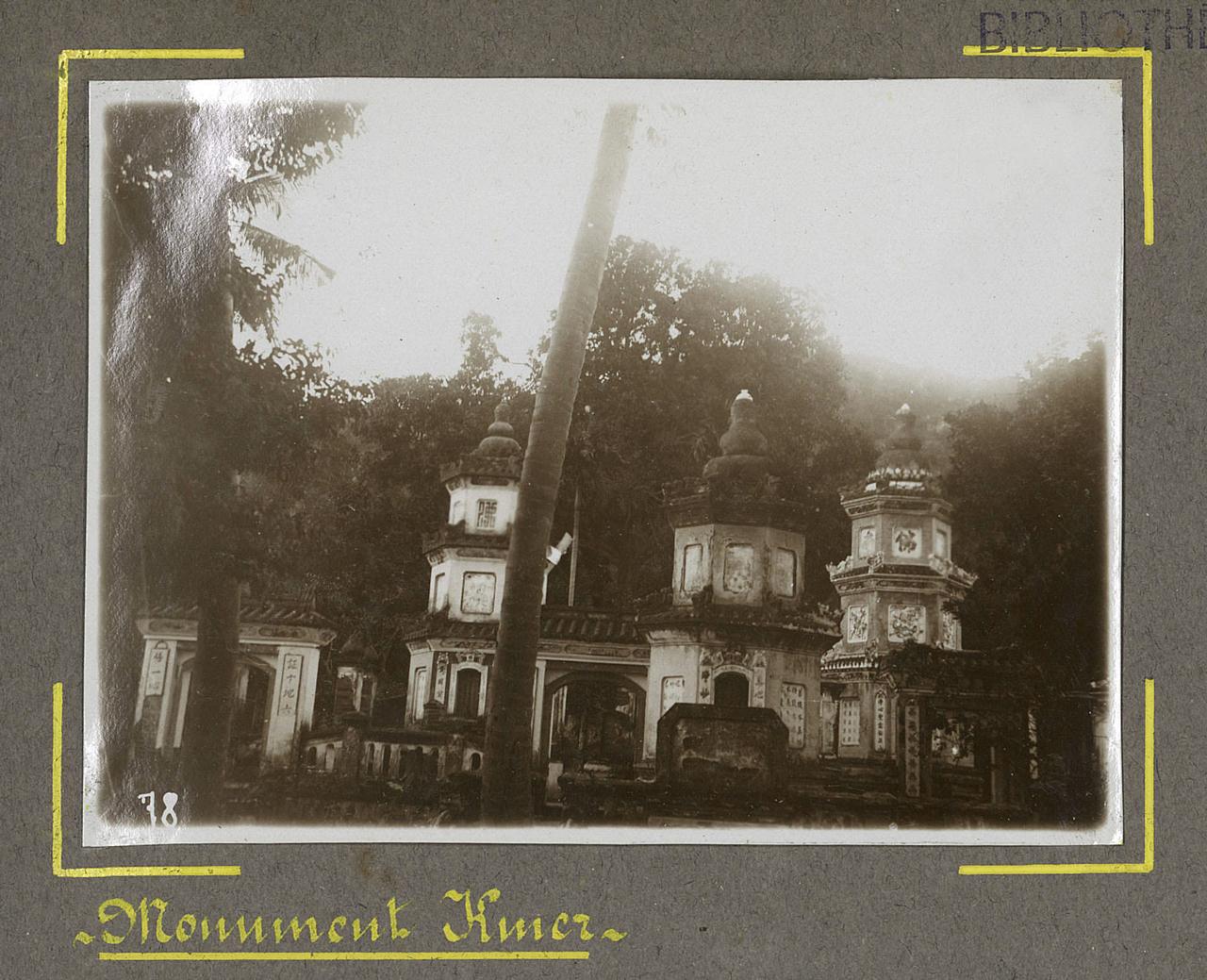 Kiến trúc chùa Khmer ở Châu Đốc xưa
