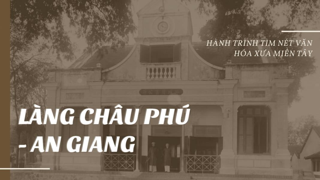 Làng Châu Phú An Giang