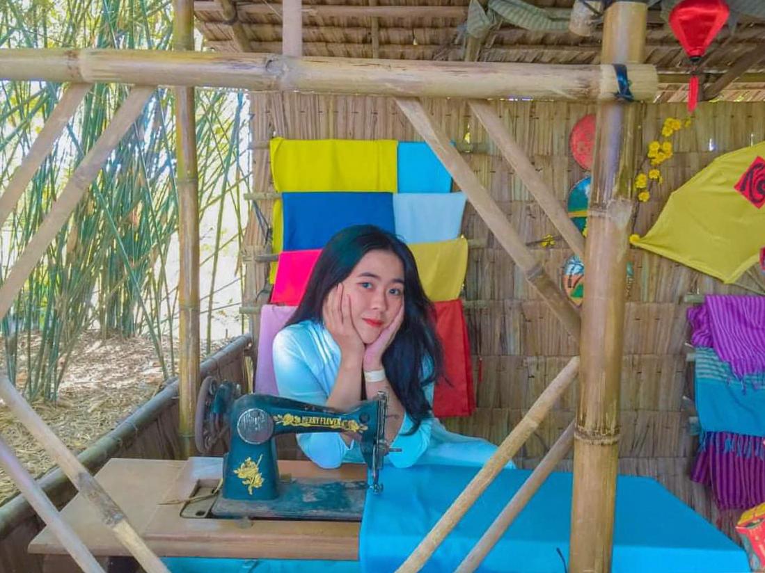 Mô phỏng ngôi nhà quê ở Bamboo Garden