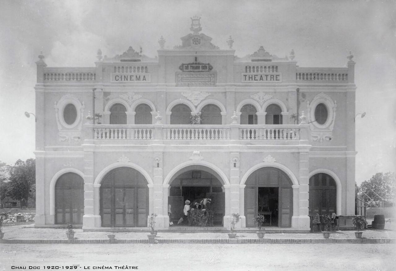 Rạp hát chiếu phim ở Châu Đốc thập niên 1920s