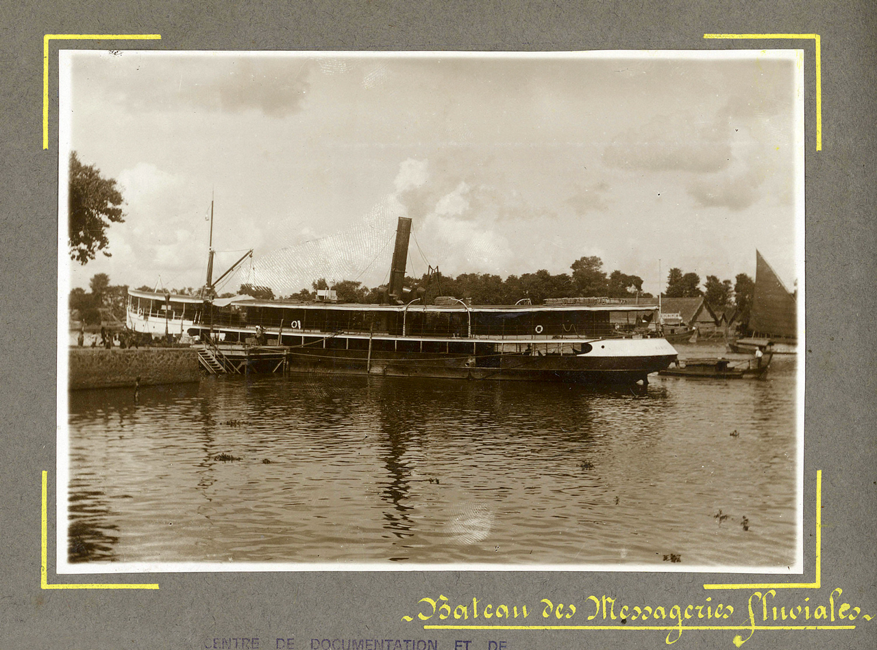 Tàu cao tốc ở Châu Đốc ngày xưa