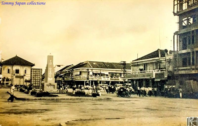Trung tâm Long Xuyên xưa