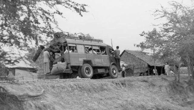 Xe đò Châu Đốc năm 1961