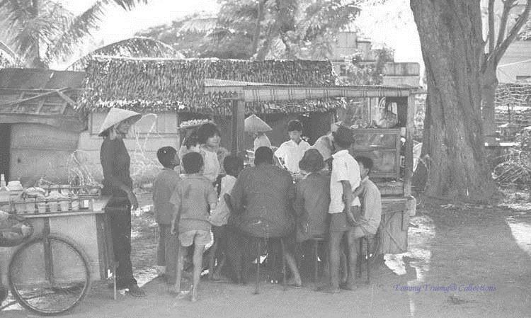 Xe nước đá bào Châu Đốc năm 1961