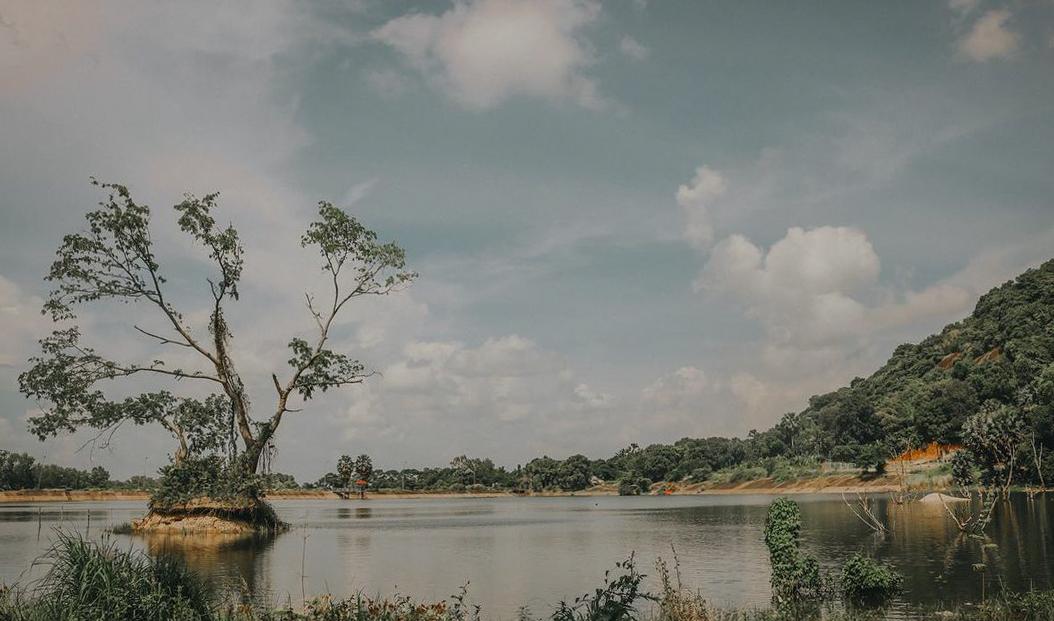 Yên bình bên hồ Soài So Tri Tôn An Giang
