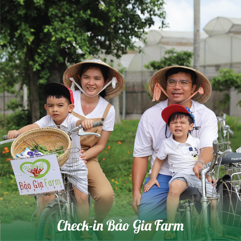 Check in Bảo Gia Farm