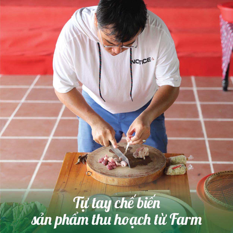 Tự tay chế biến món ăn từ Farm