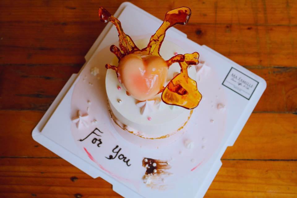 Bánh kem thiết kế đặc biệt ở Ma Famille Cafeteria Cần Thơ